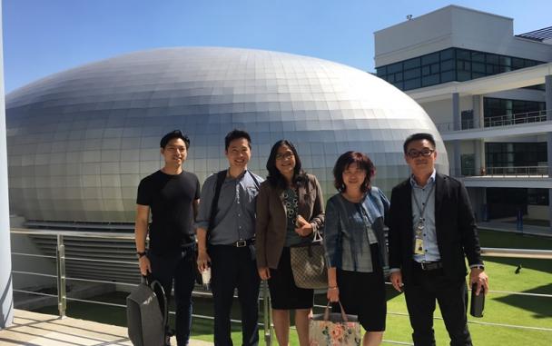 ภาพกิจกรรม ต้อนรับคณะนักธุรกิจจากประเทศมาเลเซีย The malaysian Consortium of Mid - Teir Companies (MCMTC)
